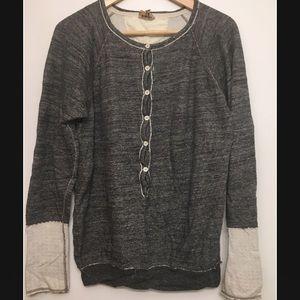 Wilfred Free Aritzia Henley Sweater